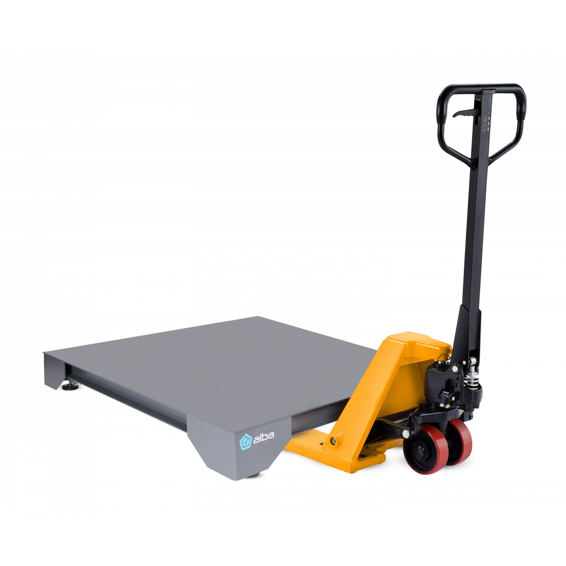 Floor scale for warehouse